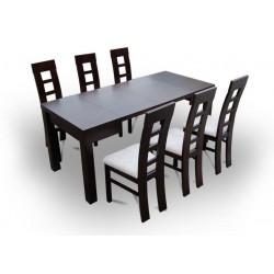 FOX Stół pokojowy 80x80 (opcja rozszerzenia)