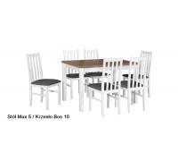 ALBA 1- Stół 120 - 150 X 80 cm Laminat