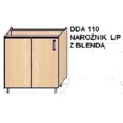 KUCHNIA DIANA MDF MAT - narożnik z blendą DDA 100