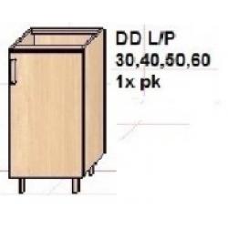 """KUCHNIA SIMONA - szafka kuchenna dolna z  półką """"30"""" DD30"""