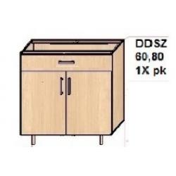 """KUCHNIA DIANA MDF POŁYSK - szafka kuchenna dolna z półką """"80"""" DD80"""