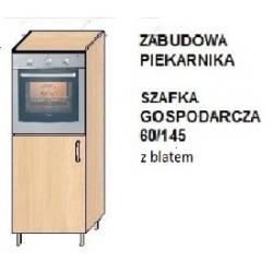 """KUCHNIA SIMONA - szafka gospodarcza z blatem """"60"""" SZG 60/145"""