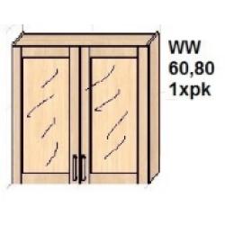 KUCHNIA SIMONA - szafka witryna kuchenna górna W2DW 60