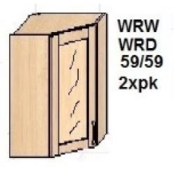 KUCHNIA DIANA MDF MAT -  szafka kuchenna górna narożna 59/59 WRW