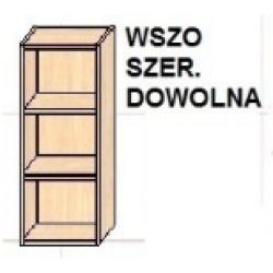 KUCHNIA SIMONA - szafka kuchenna otwarta górna (szer. dowolna) WSZO