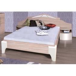 DOME - Łóżko 160 (DL2-4) z szafkami bez materaca