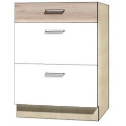 "Kuchenna szafka dolna z szufladami ECO-10D ""60"""
