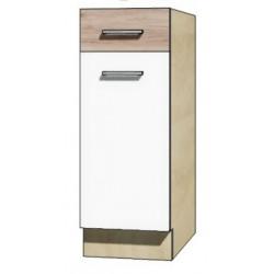 """Kuchenna szafka dolna z szufladą i półką ECO-1D """"30"""""""