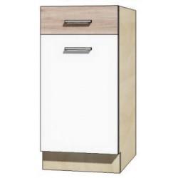 """Kuchenna szafka dolna z szufladą i półką ECO-2D """"40"""""""