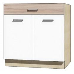 """Kuchenna szafka dolna z szufladą i półką ECO-6D """"80"""""""