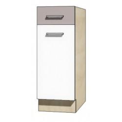 """Kuchenna szafka dolna z szufladą i półką GLO-1D """"30"""""""