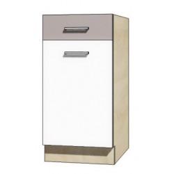 """Kuchenna szafka dolna z szufladą i półką GLO-2D """"40"""""""