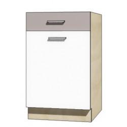"""Kuchenna szafka dolna z szufladą i półką GLO-4D """"50"""""""