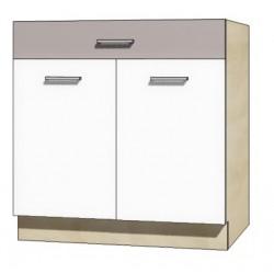 """Kuchenna szafka dolna z szufladą i półką GLO-6D """"80"""""""