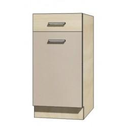 """Kuchenna szafka dolna z szufladą i półką PRE-2D """"40"""""""