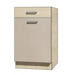 """Kuchenna szafka dolna z szufladą i półką PRE-4D """"50"""""""
