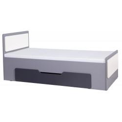 LIDO - Łóżko LŁÓŻKO 90 z pojemnikiem bez materaca