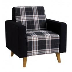 MEMONE Fotel ciemny