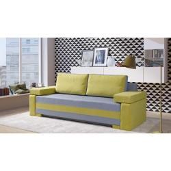 FRANKONI Sofa cytrynowa 228 x 87