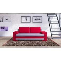 FRANKONI Sofa malinowa 228 x 87