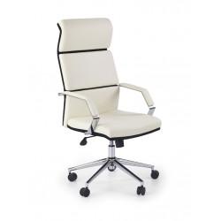 COSTA- fotel obrotowy gabinetowy czarno-biały
