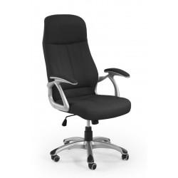 EDISON- fotel obrotowy gabinetowy czarny
