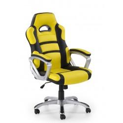HORNET - fotel obrotowy gabinetowy żółto-czarny