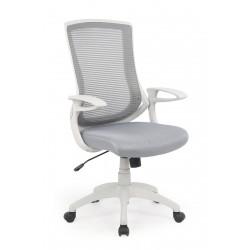 IGOR- fotel obrotowy gabinetowy popielato-kremowy