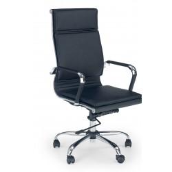 MANTUS - fotel obrotowy gabinetowy ciemno brązowy