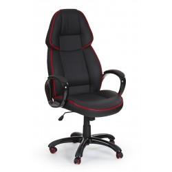 RUBIN- fotel obrotowy gabinetowy czarny