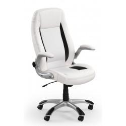 SATURN- fotel obrotowy gabinetowy biały