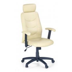 STILO- fotel obrotowy gabinetowy waniliowy
