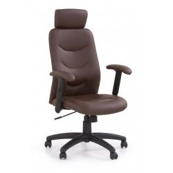 STILO- fotel obrotowy gabinetowy ciemny brąz