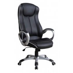 TAURUS - fotel obrotowy gabinetowy czarny