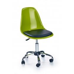 COCO 2 - fotel młodzieżowy obrotowy zielono-czarny