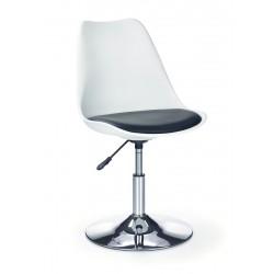 COCO 3 - fotel młodzieżowy obrotowy biały
