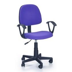 DARIAN BIS  - fotel młodzieżowy obrotowy fioletowy