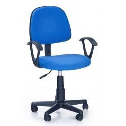 DARIAN BIS  - fotel młodzieżowy obrotowy niebieski
