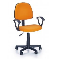 DARIAN BIS  - fotel młodzieżowy obrotowy pomarańczowy