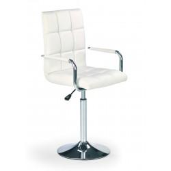 GONZO - fotel młodzieżowy obrotowy biały