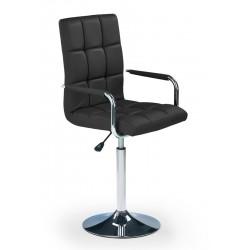 GONZO - fotel młodzieżowy obrotowy czarny
