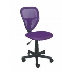 SPIKE fotel młodzieżowy obrotowy fioletowy