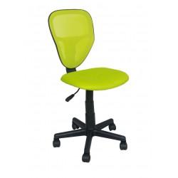 SPIKE fotel młodzieżowy obrotowy zielony