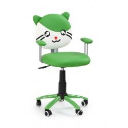 TOM - fotel młodzieżowy obrotowy zielony