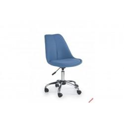 COCO 4 - fotel młodzieżowy obrotowy niebieski