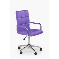 GONZO 2 - fotel młodzieżowy obrotowy fioletowy