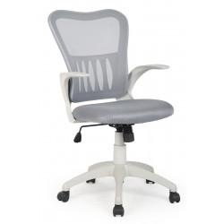 GRIFFIN - fotel pracowniczy obrotowy popielaty