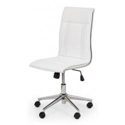PORTO - fotel pracowniczy obrotowy biały