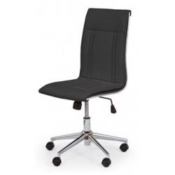 PORTO - fotel pracowniczy obrotowy czarny