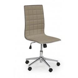 TIROL - fotel pracowniczy obrotowy beżowy